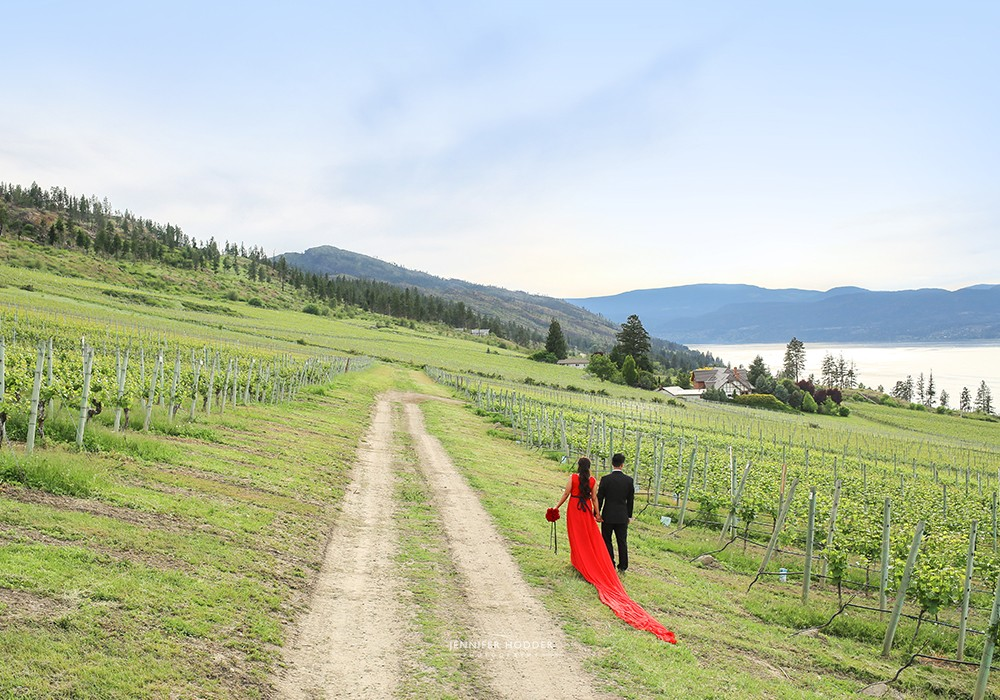 Kelowna bc vineyard wedding