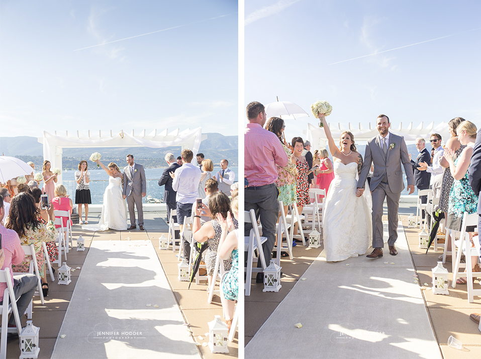 Rooftop wedding in Kelowna BC