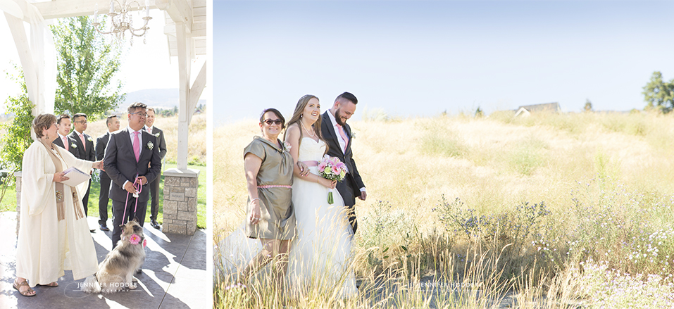 Sanctuary Gardens West Kelowna Wedding