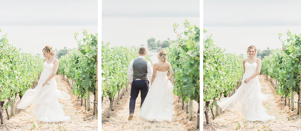 Quails Gate Winery Wedding Kelowna BC