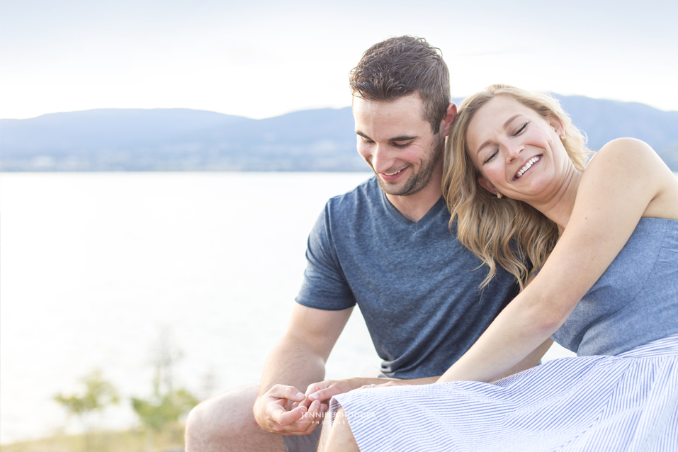 Kelowna engagement photo inspiration