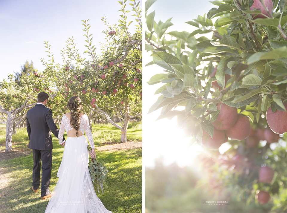 Apple Orchard Bohemian Wedding
