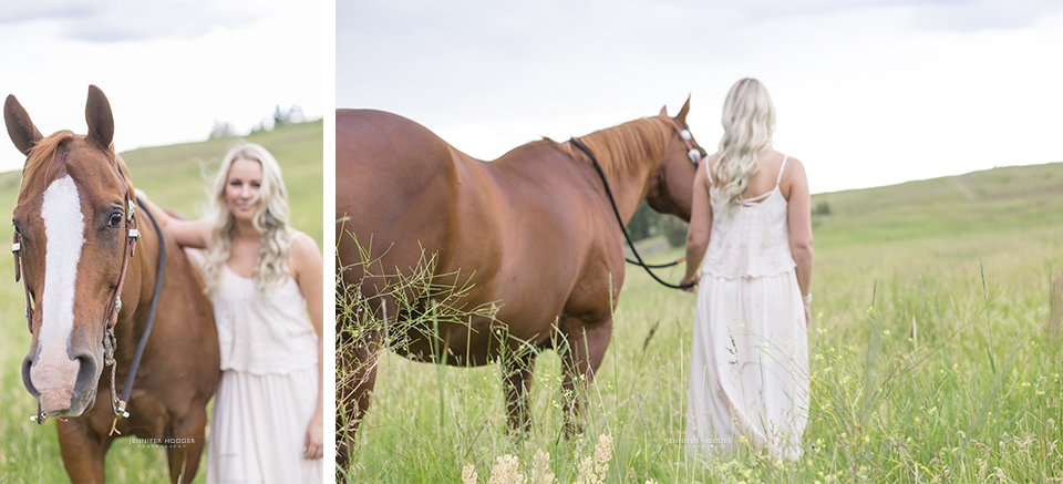 Kelowna lifestyle photographer horse