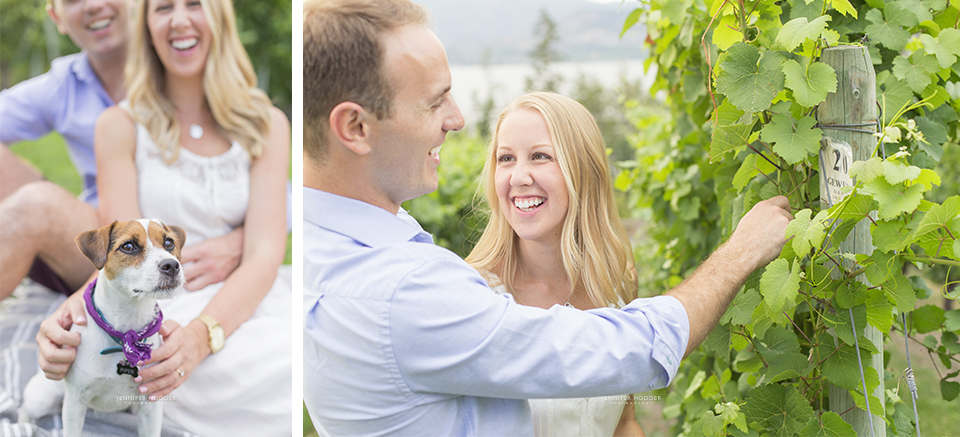 winery engagement photographer