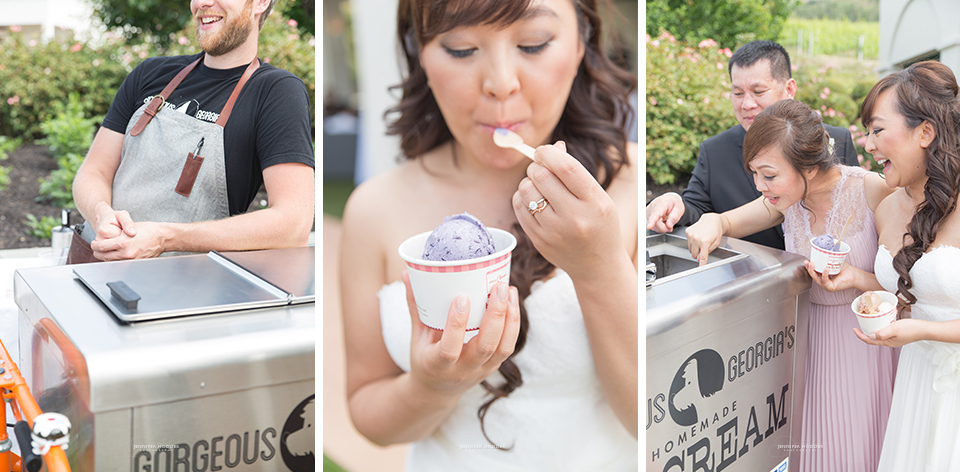 Handmade ice cream wedding inspiration