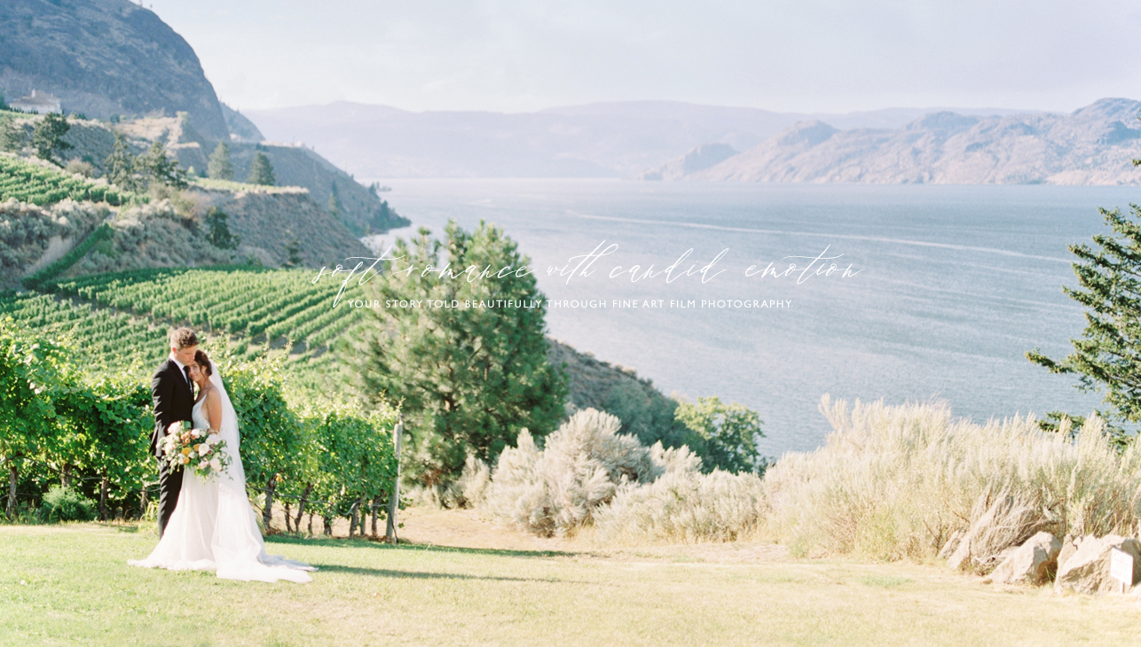 Okanagan winery wedding photographer