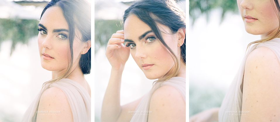 Fine art film bridal portrait wedding photographer Kelowna