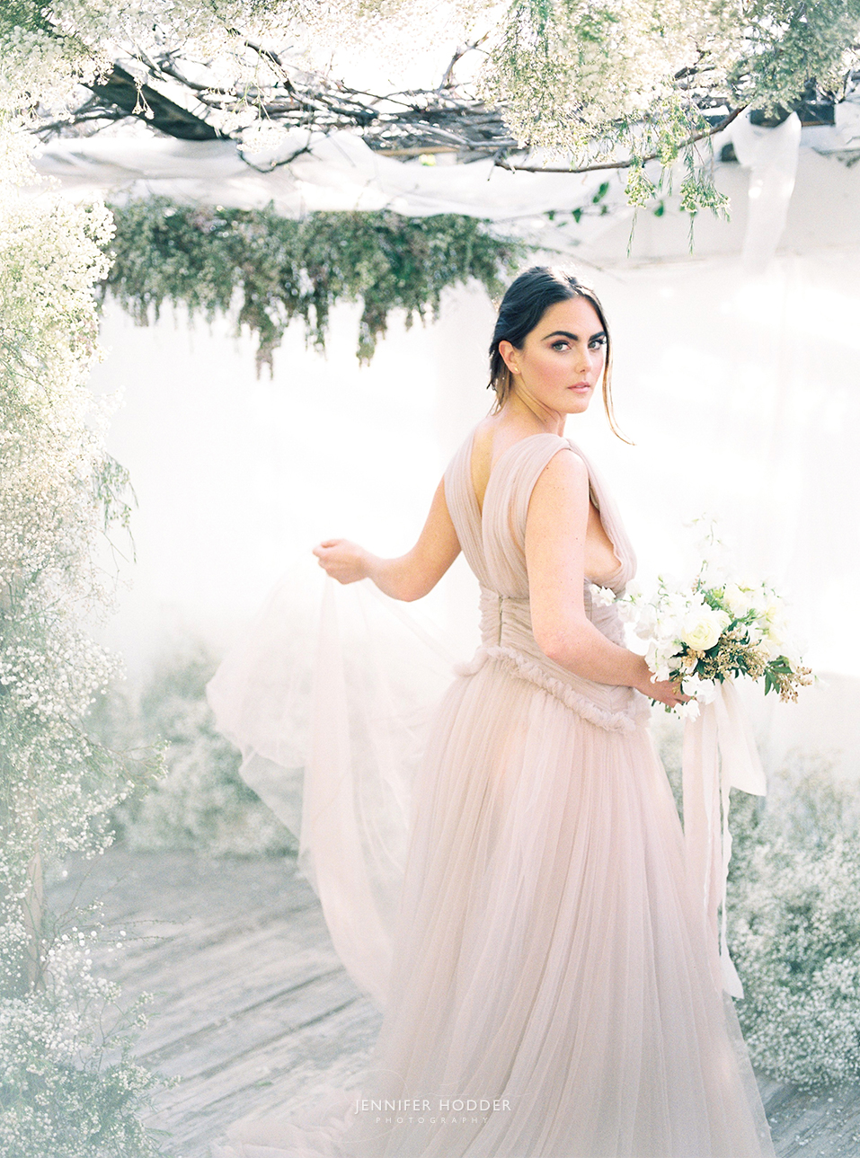 Blush Cinobi Wedding Dress