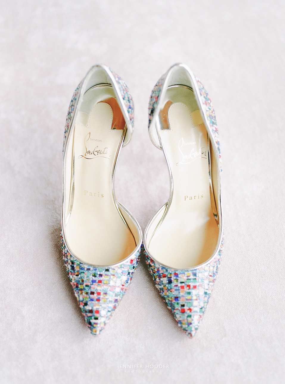 Christian Loubotin wedding shoes