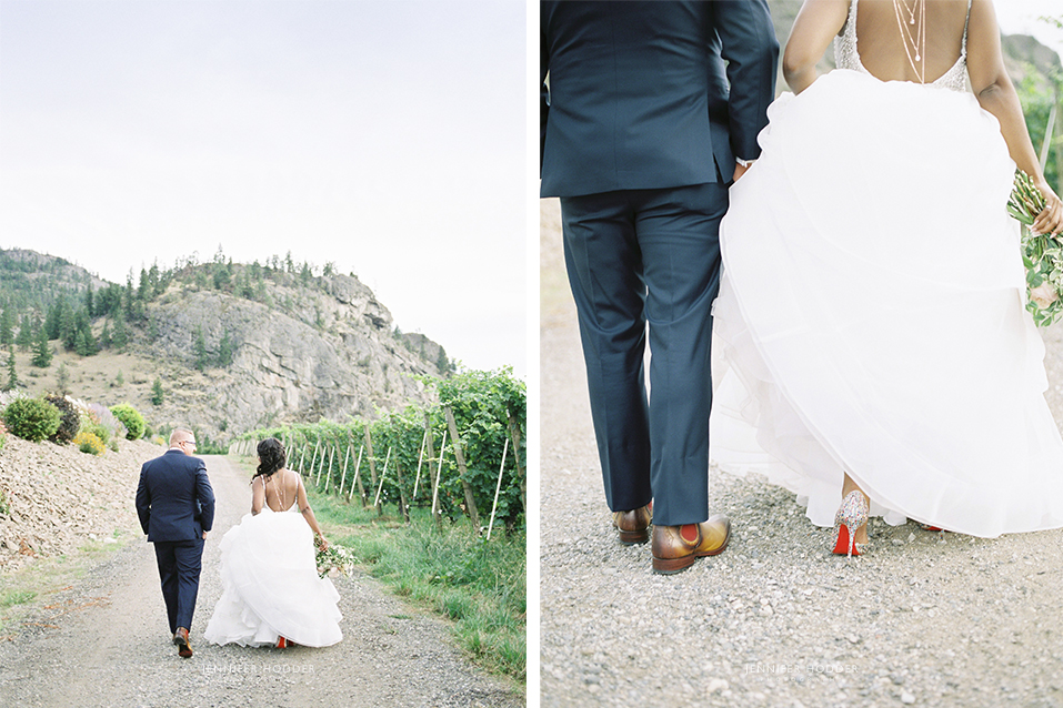 Penticton luxury winery wedding photographer