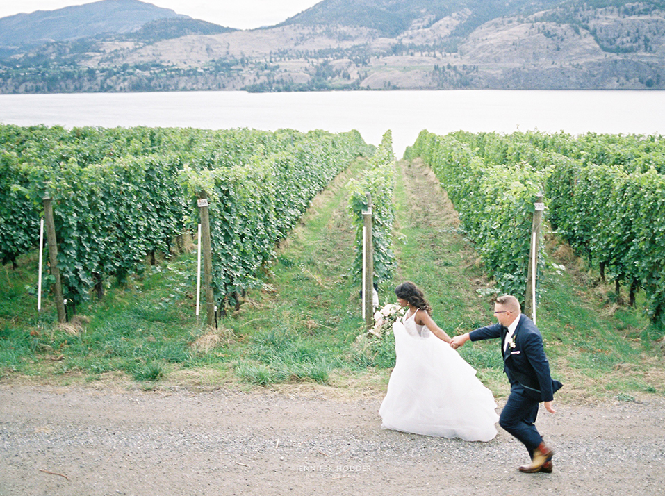 Vineyard winery wedding photographer