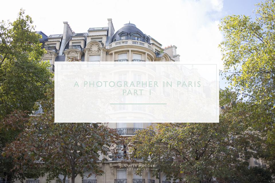 Paris photographer from Canada