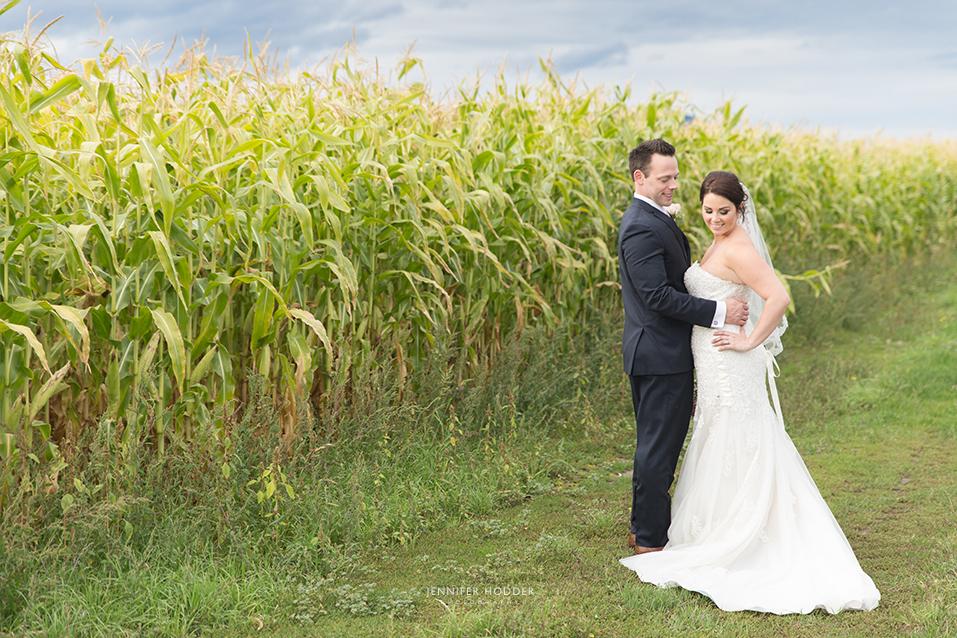 Vernon wedding bride with veil