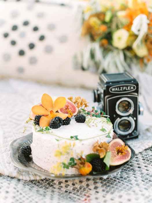 bohemian inspiration with vintage camera